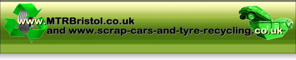 scrap cars and tyre recycling MTR Bristol logo