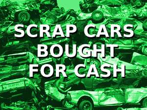 scrap cars bought for cash in bristol